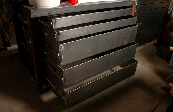 Full-Extension Steel Drawers