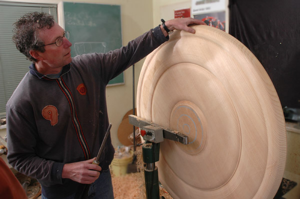 dale rouleau woodwork turning spruce