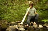 rhy mcmillan didgeridoo drums ucluelet creek