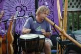 shane philip didgeridoo drums quadra island
