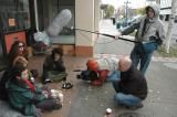 video crew production victoria homeless camera equipment