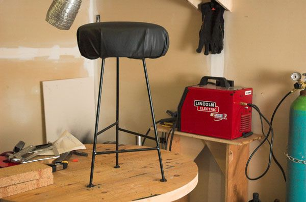 welding lincoln welder stool steel gas tank